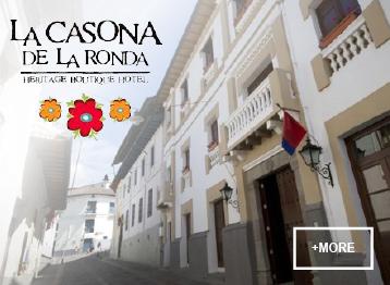 Casona de la Ronda Quito hospitality safe travels Ecuador