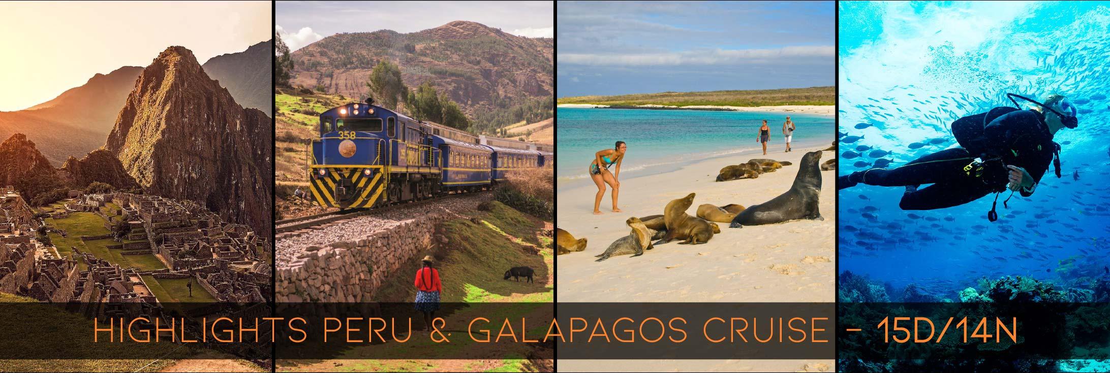 Tour Peru Galapagos