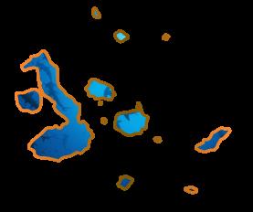 Galapagos Islands map essence