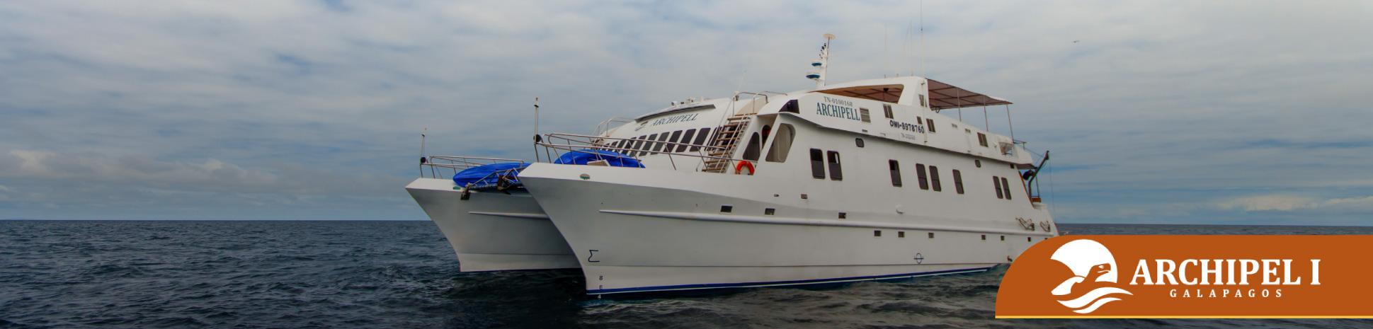 Archipel I Itinerario Galapagos Ecuador tour navegable
