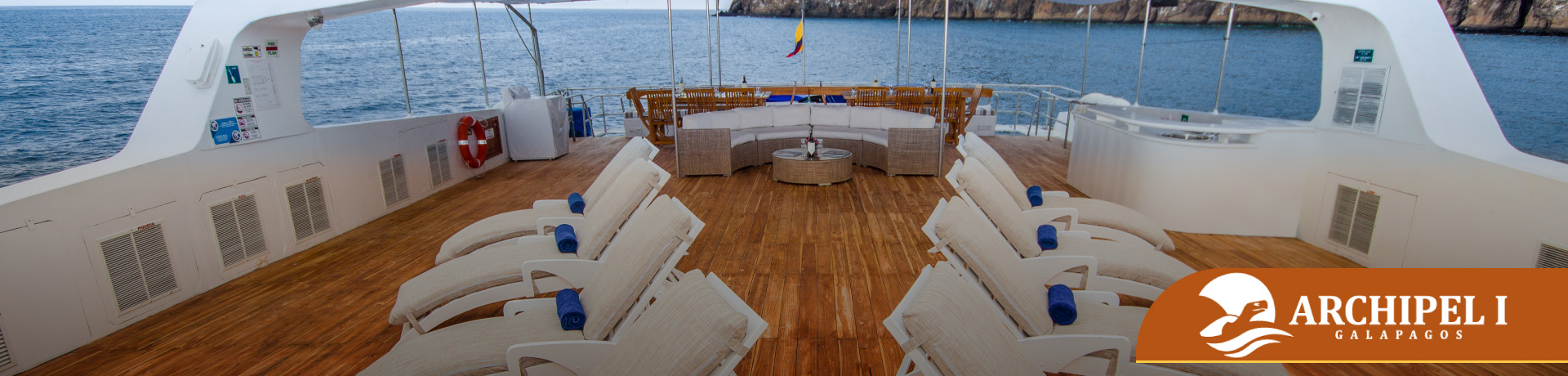Archipel I Itinerario Galapagos Ecuador tour navegable low cost