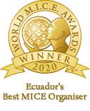 Ecuadors best mice organiser 2020 winner World MICE Awards